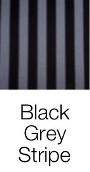 Black Grey Stripe dog bed fabric